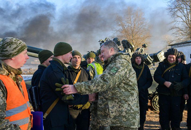 Mykola Lazarenko/Presidencia ucraniana/vía REUTERS