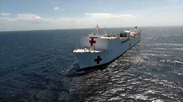 La misión del barco hospital Comfort con los refugiados venezolanos
