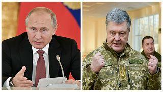 بوروشينكو يتهم بوتين بالسعي وراء ضم أوكرانيا بأكملها إلى روسيا