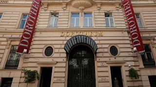 the Austrian auction house Dorotheum in Vienna April 28, 2014