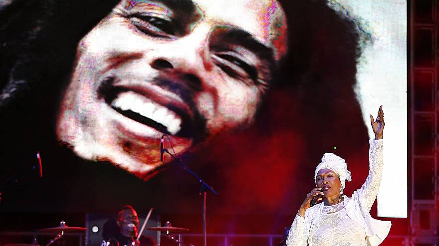 A concert celebrating the 70th anniversary of Bob Marley's birth.
