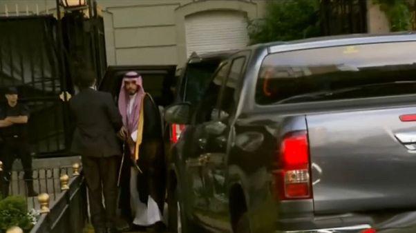 Saudischer Kronprinz Bin Salman beim G20-Gipfel eingetroffen