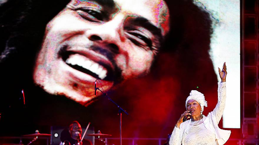 FILE PHOTO: 70th anniversary of Marley's birth in Kingston Feb. 7, 2015