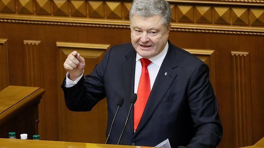 Poroshenko hsa called for support from Nato