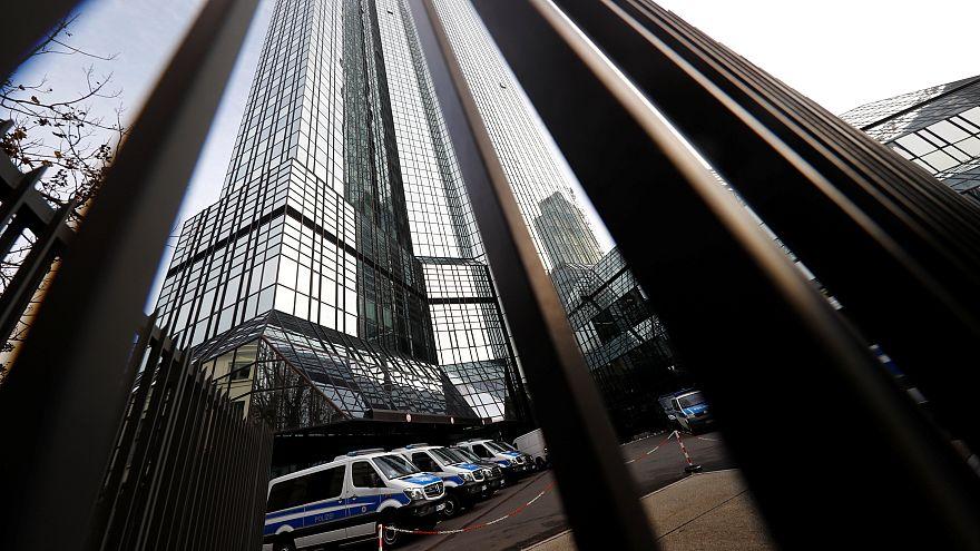 Verdacht auf Geldwäsche: Razzia bei der Deutschen Bank