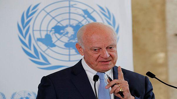 دي ميستورا: روسيا وتركيا وإيران أخفقت في تحقيق أي تقدم ملموس في تشكيل لجنة دستورية سورية