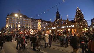 В Дрездене открылась Рождественская ярмарка