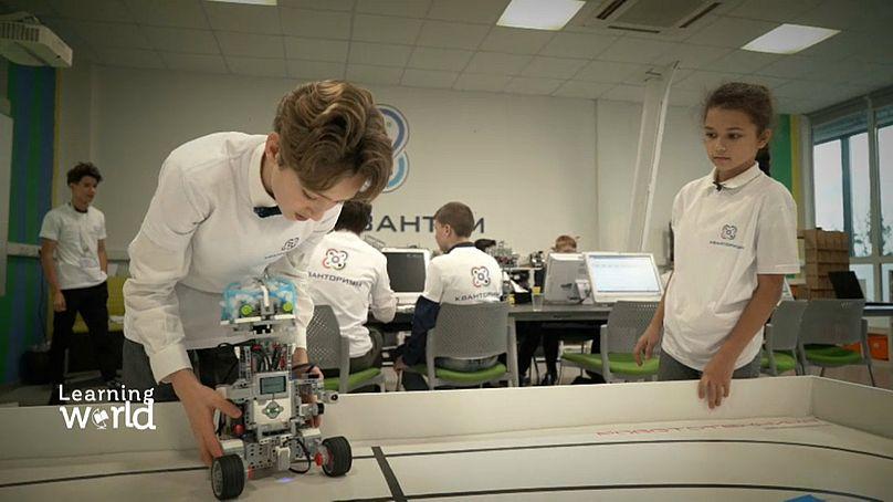 شیوه تازه آموزش زبان و فناوریهای تازه به کودکان در روسیه