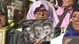 """Guerre du Liban : """"le droit de savoir"""" des familles de disparus"""
