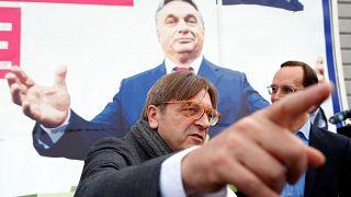 Billboard battle brews between Brussels and Budapest