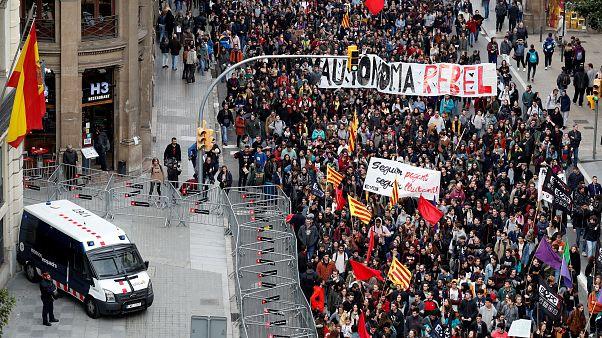 Las protestas incrementan la presión sobre el Gobierno de Quim Torra