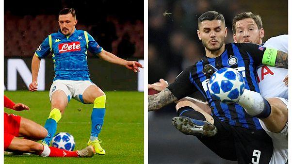 Champions League: Napoli e Inter, tutto è ancora possibile