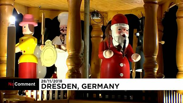 В Дрездене заработала одна из старейших ярмарок Европы