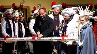 Dresden'deki Noel pazarı 584. kez kapılarını açtı
