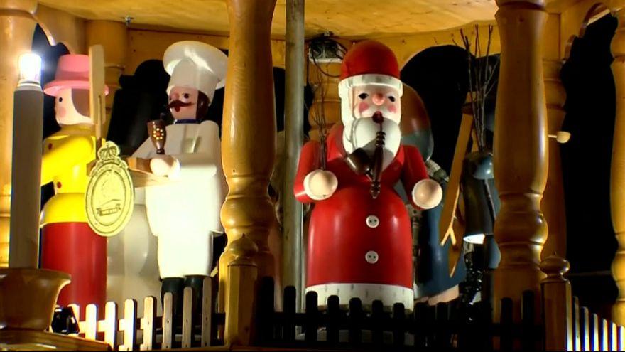 ۵۸۴مین جشنواره و بازار کریسمس شهر درسدن آلمان آغاز شد