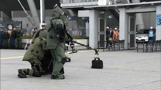 اجرای مانور ضدتروریسم در محل برگزاری المپیک و پارالمپیک ۲۰۲۰ توکیو