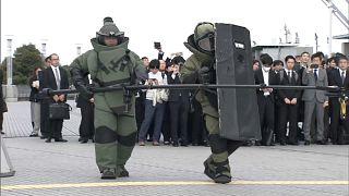 Tokio: Anti-Terror-Übung vor Olmypischen Spielen