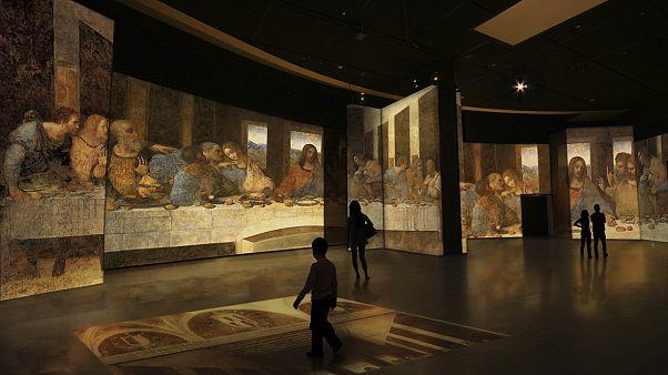 Άνοιξε η μεγάλη έκθεση για τον Λεονάρντο Ντα Βίντσι στο Γκάζι