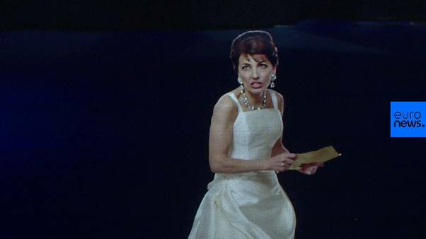 Maria Callas returns to opera stage in hologram form