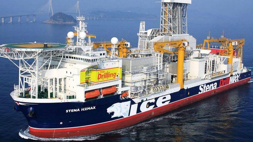 Επίσκεψη κυβερνητικού κλιμακίου στο Stena Icemax