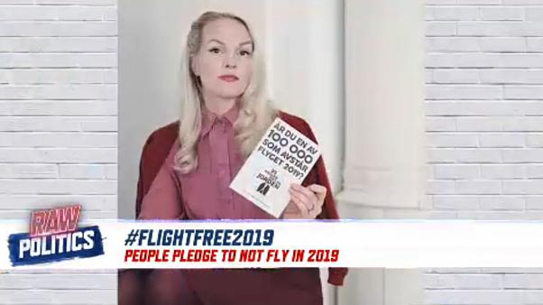 Swedes launch campaign asking people to give up air travel in 2019 | Raw Politics