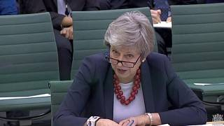 Theresa May answers MPs' questions about her Brexit deal