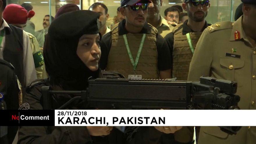 Pakistan showcases new defence tech