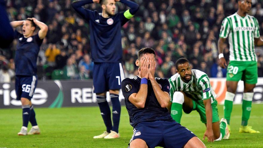 Europa league: Μπέτις-Ολυμπιακός 1-0