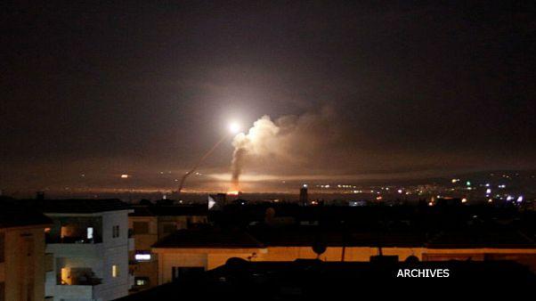 حمله گسترده اسرائیل به حومه دمشق و منطقه قنیطره؛ شلیک پدافند هوایی سوریه به اهداف دشمن