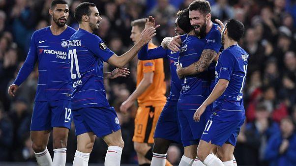 Europa League: Τσέλσι-ΠΑΟΚ 4-0