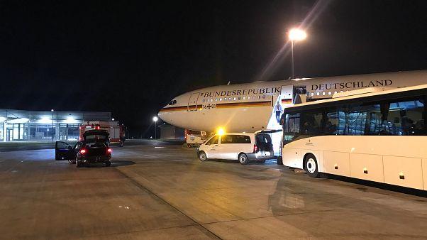 آنگلا مرکل به دلیل نقص فنی هواپیما به افتتاحیه گروه بیست نمیرسد