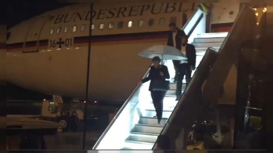 G20: ritardo Merkel per un guasto all'aereo