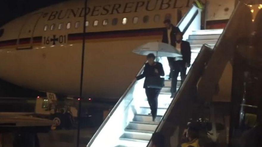 G20 : Angela Merkel atterrit d'urgence à Cologne