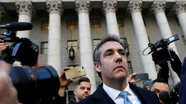 Trump blasts Cohen after ex-lawyer's guilty plea in Russia inquiry