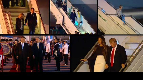Nombreuses sources de tension à l'ouverture du G20