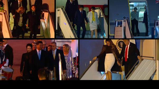Гости съезжались в Буэнос-Айрес на саммит G20