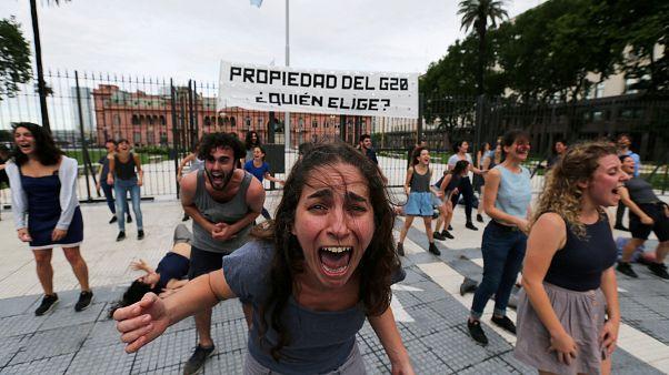 G20: pericolo proteste, polizia blinda Buenos Aires