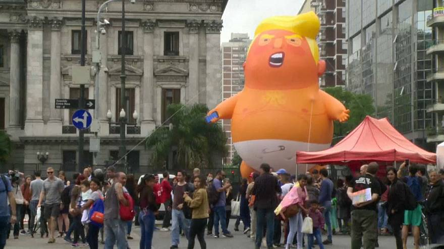 G20 Gipfel: Proteste in Buenos Aires