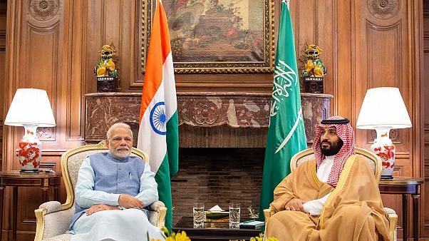 بن سلمان يلتقي برئيس وزراء الهند في الأرجنتين