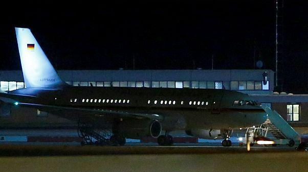 هواپیمای انگلا مرکل