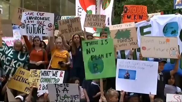 Australia: in piazza per il clima