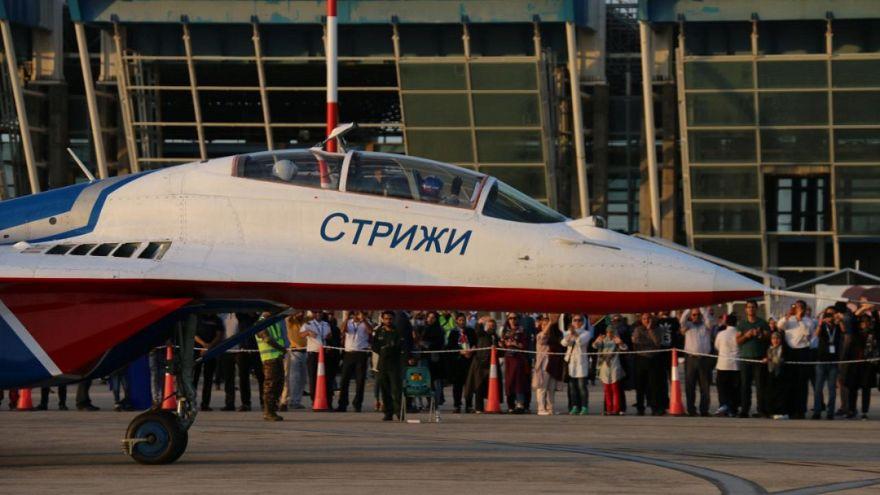 گزارش تصویری اختصاصی یورونیوز از نمایشگاه هوایی کیش