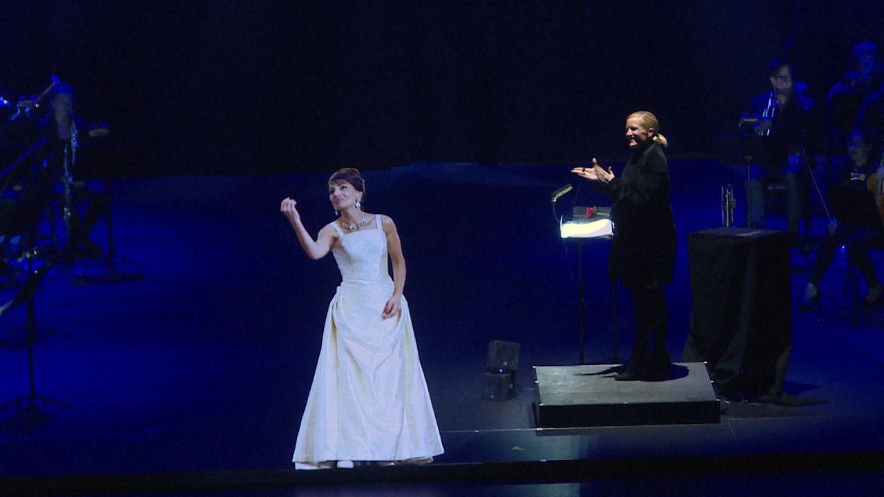 VİDEO | Yunanistanlı efsane diva Maria Callas sahnelere hologram olarak döndü