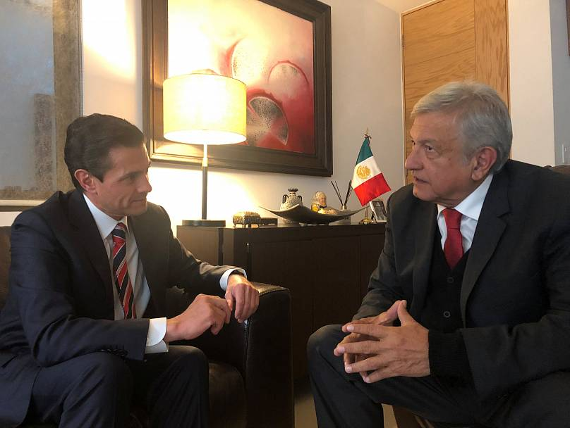 Oficina de prensa de López Obrador/vía REUTERS