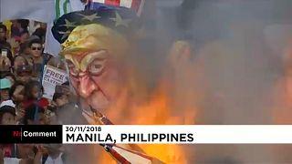 Filippine, la sinistra manifesta contro Duterte