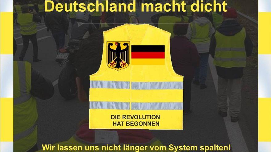 Les Gilets Jaunes donnent l'exemple... en Allemagne