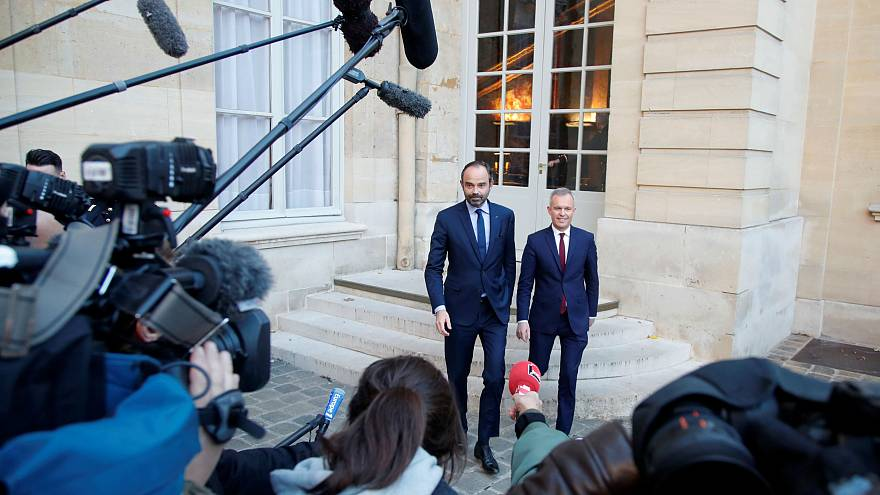 French PM Edouard Philippe gets ready to meet Yellow Vest protestors