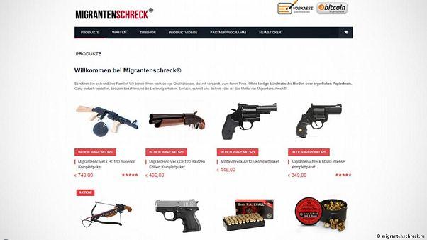 محاكمة ناشط يميني ألماني بتهم تتعلق ببيعه أسلحة لاستخدامها ضد اللاجئين