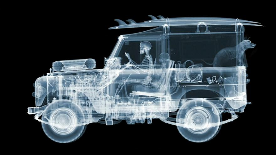 Nick Veasey, radiographies du réel