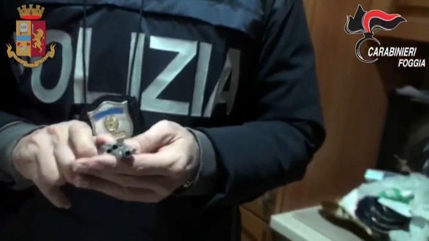 Maxi blitz antimafia a Foggia, in manette 30 persone